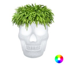 Qeeboo Mexico Planter and champagne cooler bright H 45 cm LED RGB 8W Outdoor