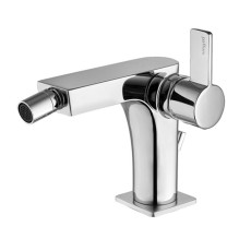 Paffoni Bidet mixer with automatic pop-up waste Rock H 15.3 cm