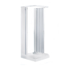 Negrari Extensible and collapsible folding shower enclosure Etech Professional three sides