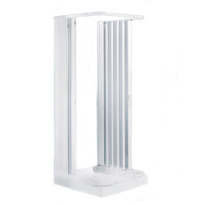 Negrari Collapsible folding shower enclosure Letech Hobby three sides