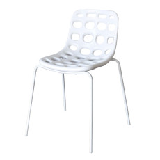 MYYOUR Stackable chair with legs Chips L 56 cm - Garden furniture