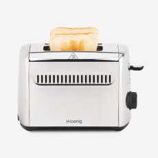H.Koenig TOS9 Toaster with two openings & crust