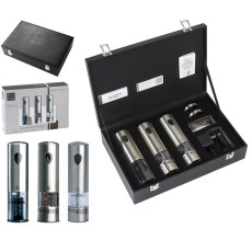 Peugeot Pepper and salt mill and corkscrew Rechargeable Elis trio H 20 cm