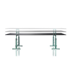 Magis Table Brut L 290cm Steel Sheet Polyester Painted in Black