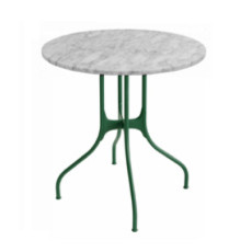 Magis Round Table Mila? ? 80cm Carrara Marble White