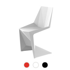Vondom stackable chair VOXEL Chair H 86 cm For indoor and outdoor use