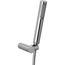Paffoni Stick Shower Set Complete with Flexible Double Conical Cap and Double Interlocking