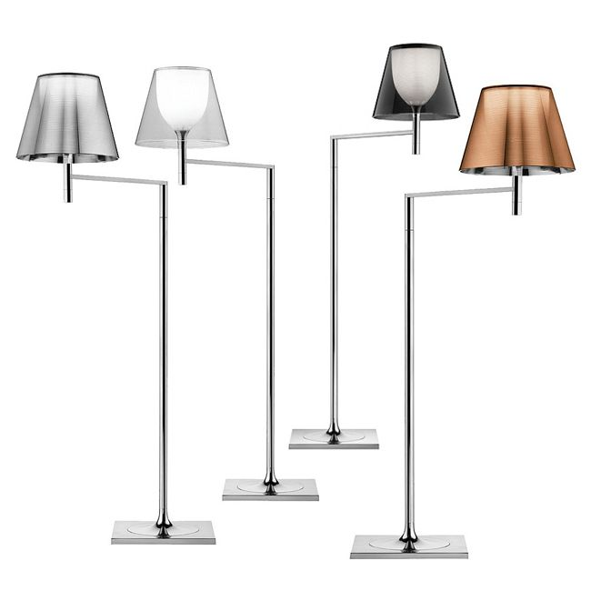 Flos Ktribe F1.Flos Floor Lamp Ktribe F1 1 Light E27 H 112 Cm