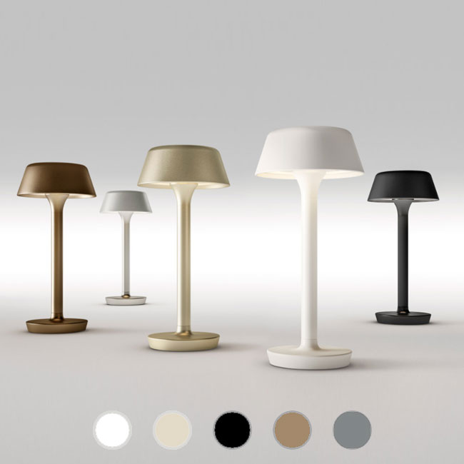 Panzeri Table Lamp With Rechargeable