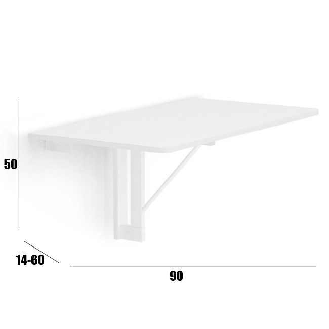 Tavolo Da Muro Calligaris Quadro Pieghevole.Connubia By Calligaris Quadro Folding Table From Fix Wall 90x60 Cm Www Smart Issima Com