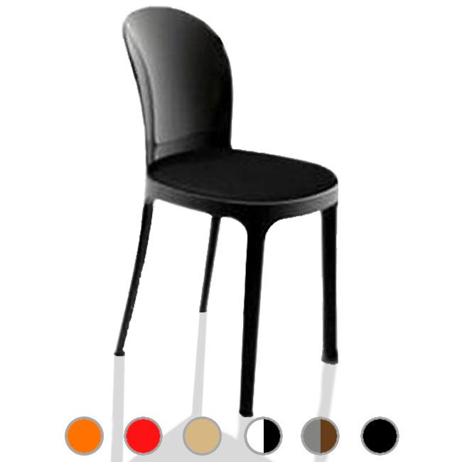 Sedia Vanity Chair.Magis Chair Vanity Chair H 81 Cm L 40 5 Cm Shiny Frame And Fabric Pillow