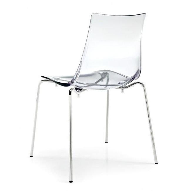 Connubia by Calligaris Chairs Led Transparent Plastic Stackable ...